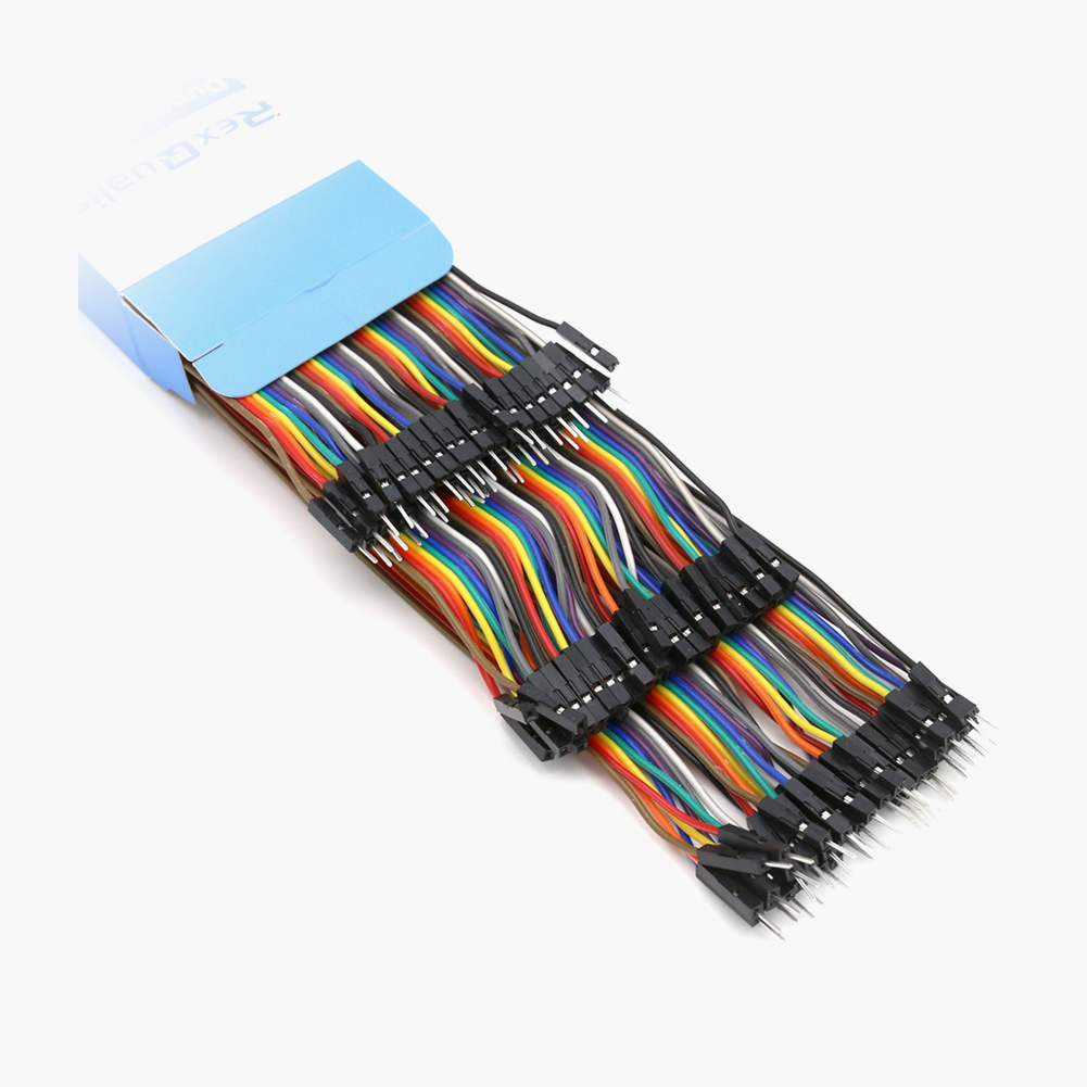 AZDelivery ⭐⭐⭐⭐⭐ 3 x 40 Pieces Jumper Wire Cables F2M for Arduino and Raspberry Pi